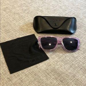 Diff eyewear Harper amethyst sunglasses